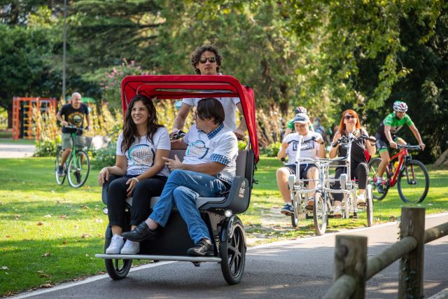 Incontro dei Comuni del bacino del Feltrino e della Costa dei Trabocchi per il cicloturismo inclusivo sulla Via Verde