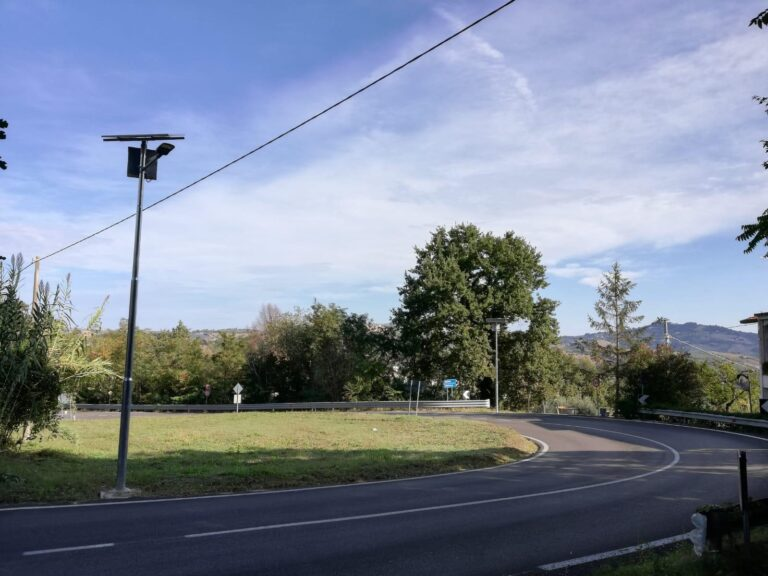 Penna Sant'Andrea, fotovoltaico per la pubblica illuminazione: completata la prima parte dei lavori
