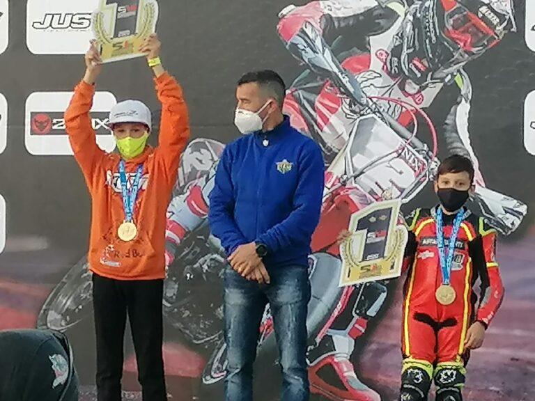 Giulianova, Emanuele Andrenacci Campione Italiano Supermoto Junior