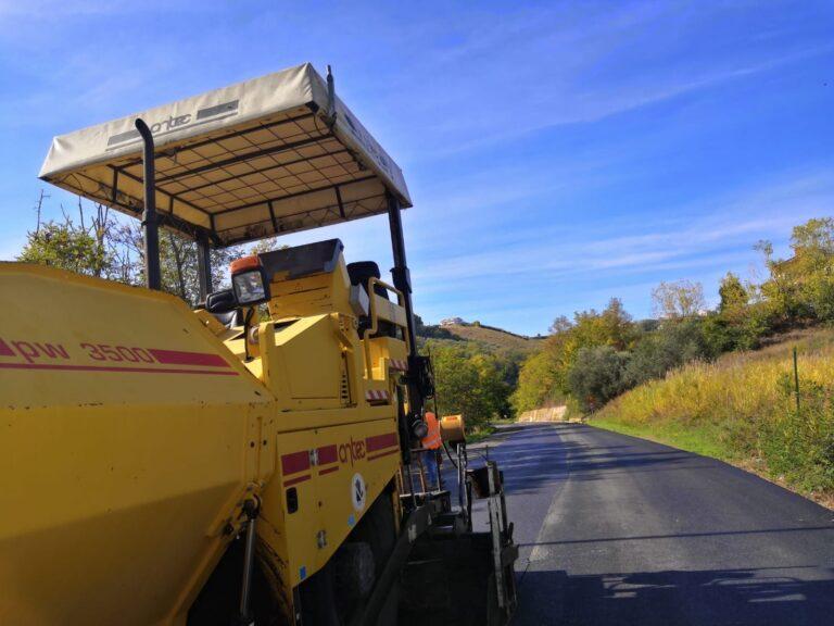 Agli sgoccioli i lavori sulle strade che collegano Silvi ad Atri (Sp 29b e Ss 553)