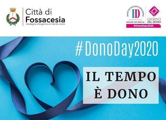 Anche Fossacesia aderisce a Dono Day