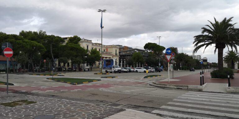 Giulianova, piazza Dalmazia pronto per il nuovo look. A giorni sarà aperto il cantiere