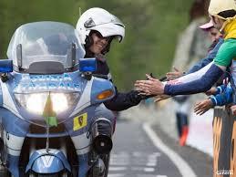 Giro d'Italia, sicurezza stradale: campagna di sensibilizzazione promossa dal Dipartimento della Pubblica sicurezza della Polizia