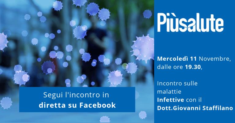 Diretta Facebook con il Dott. Giovanni Staffilano, cardiologo, specialista in malattie infettive! Non perderla.