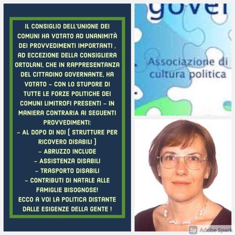 Consiglio Unione dei Comuni 'Le Terre del Sole', Costantini contro la Ortolani: 'unico voto contrario per servizi ai più deboli'