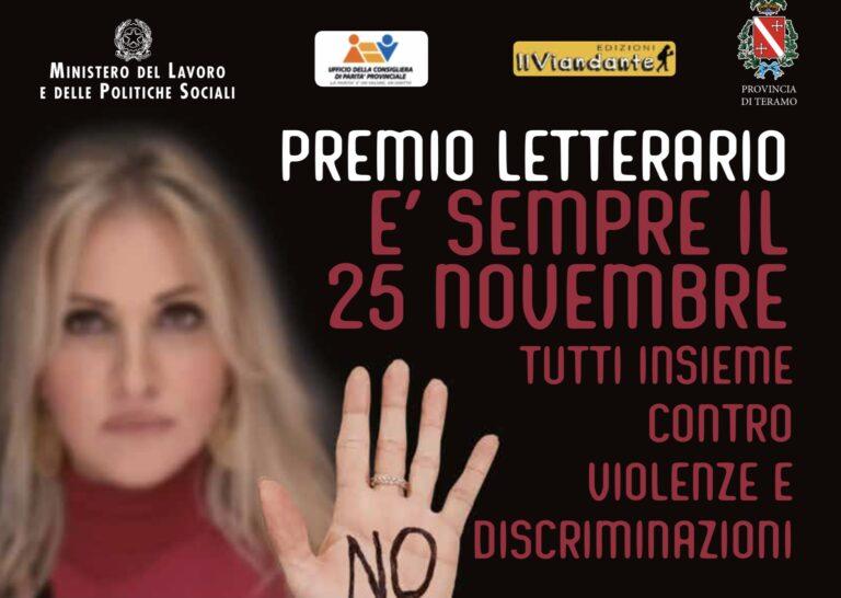 Teramo, racconti contro la violenza sulle donne: il premio letterario