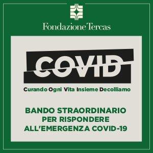 Teramo, emergenza Covid19: bando straordinario della Fondazione Tercas