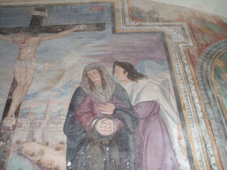 Convento di Propezzano: il volto di Giuseppe d'Acquaviva tra i personaggi di un affresco? FOTO