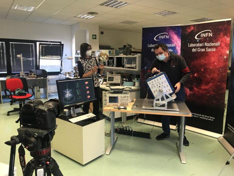 L'Aquila, International Cosmic Day: 3000 studenti hanno partecipato al grande evento online per scoprire i raggi cosmici