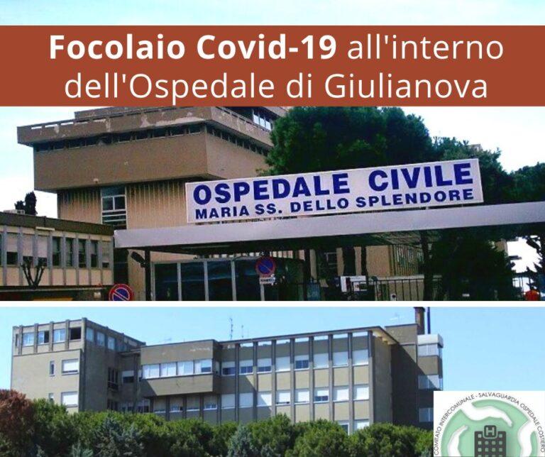 Comitato Intercomunale: 'tutta la verità sul focolaio di Covid all'ospedale di Giulianova'