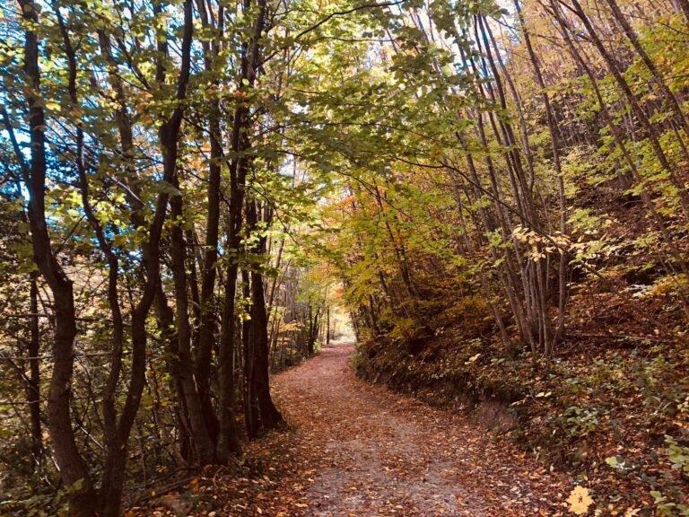 La montagna di Campli presa d'assalto nei weekend d'autunno