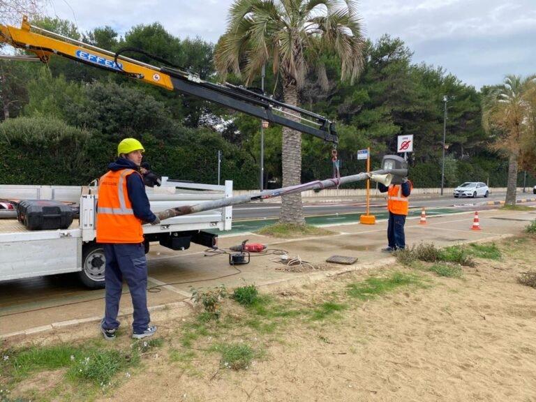 Montesilvano: 240 nuovi pali per la pubblica illuminazione