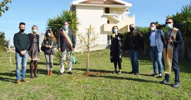 Fossacesia, alberi piantati nel Parco della Libertà e consegna a domicilio delle piante per salutare i nuovi nati