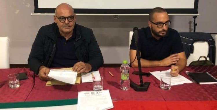 Il saluto di Boccanera a D'Ignazio destinato al nuovo incarico