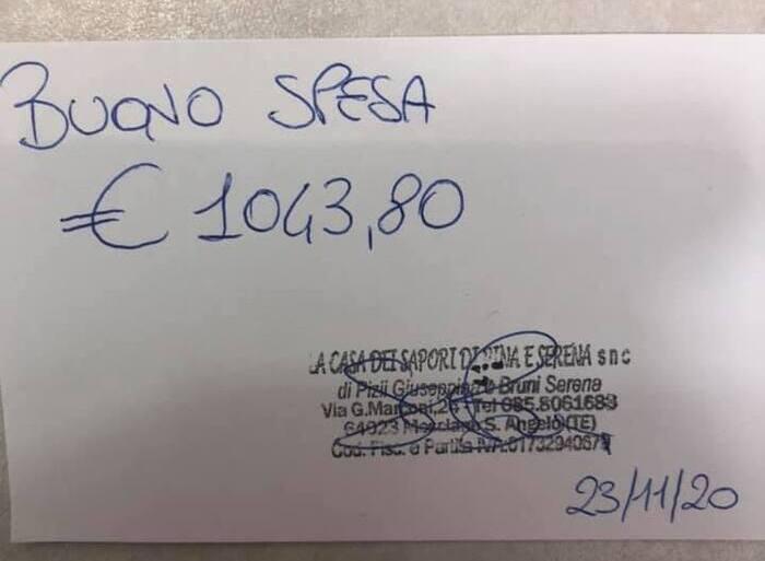 Mosciano, raccolti oltre mille euro per una famiglia in difficoltà