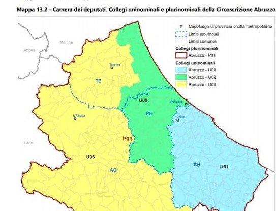 Collegio elettorale di Teramo accorpato con Pescara e L'Aquila: la riforma che non piace