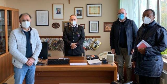 Carabinieri di Atessa in aiuto alla Caritas zonale