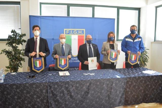 Pallamano, Italia-Norvegia a Pescara: a Chieti firmato protocollo per Pala Santa Filomena