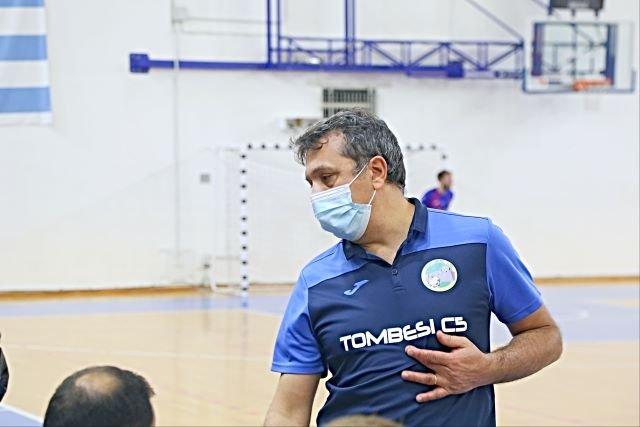 Gianluca Marzuoli non è più l'allenatore della Tombesi