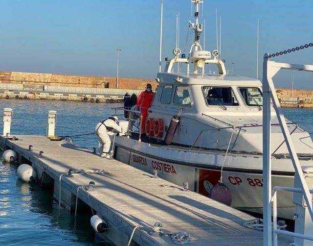 La Guardia Costiera di Ortona soccorre pescatore ferito