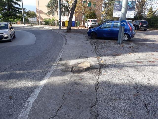 Chieti, manutenzione: interventi quotidiani sulle strade cittadine