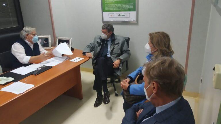 Sulmona, entro una settimana i 46 posti Covid nella clinica San Raffaele