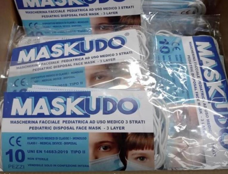 Donate 500 mascherine pediatriche all'istituto comprensivo di Martinsicuro: l'iniziativa