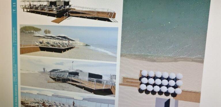 Alba Adriatica, terrazze sul mare e piscine coperte: nasce il nuovo piano spiaggia VIDEO