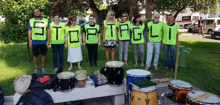 Pescara, protesta contro il taglio degli alberi: assolti i 6 manifestanti