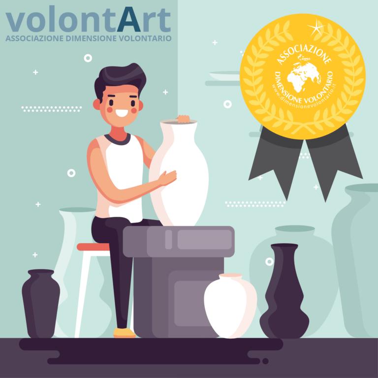 Dimensione Volontario: la Regione finanzia i laboratori con la ceramica di Castelli