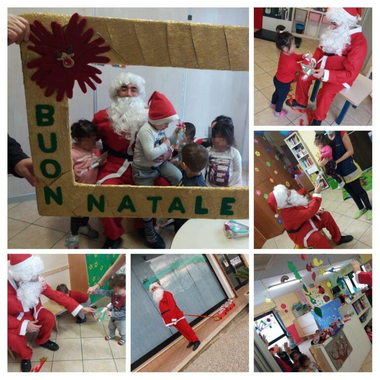È arrivato Babbo Natale all'Asilo Sirena!