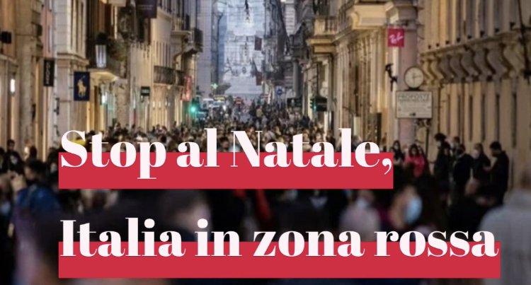Italia in zona rossa dal 24 dicembre al 7 gennaio: le due ipotesi del Governo