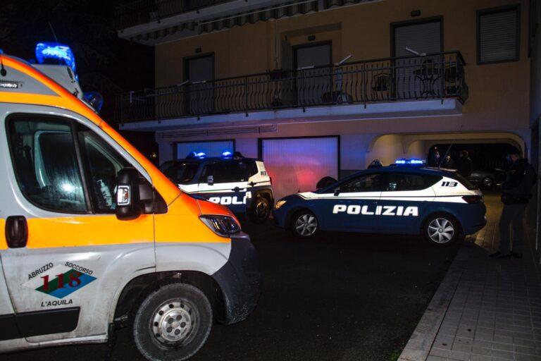 L'Aquila, si barrica in casa armato: apre alla polizia dopo ore di trattativa