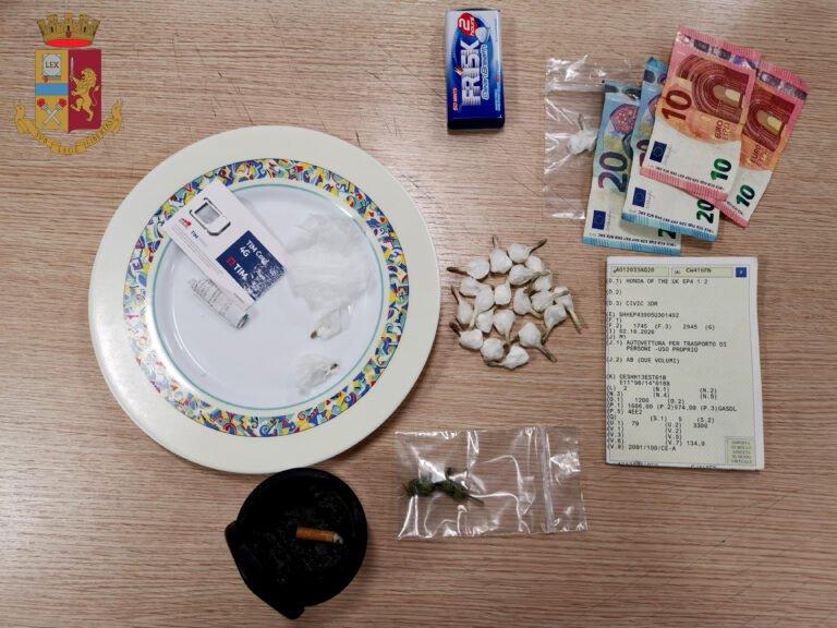 L'Aquila, dosi di cocaina già pronte: fermati in due
