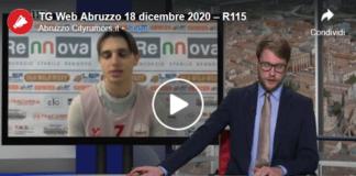 TG Web Abruzzo 18 dicembre 2020