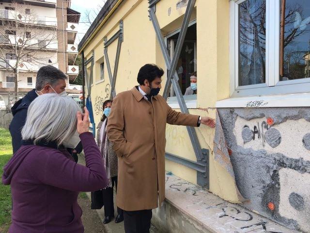 Chieti, asili nido: sopralluoghi del sindaco nelle strutture cittadine