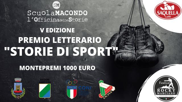 Ripa Teatina, Premio letterario 'Storie di Sport': al via la quinta edizione