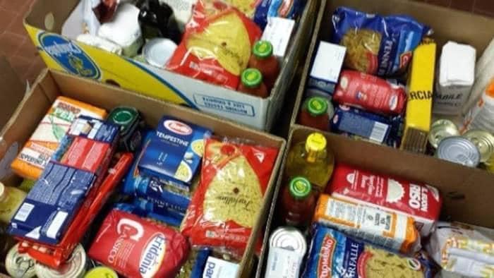 Tortoreto, pacchi alimentari per le famiglie in difficoltà: la donazione