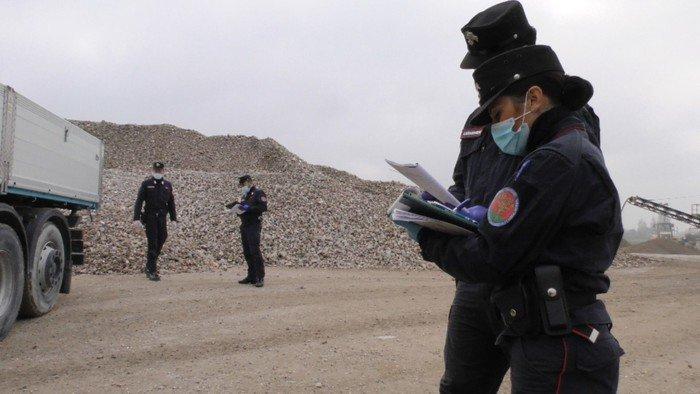 Traffico illecito di rifiuti: nel mirino anche aziende abruzzesi