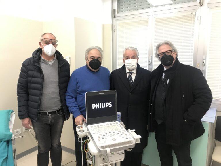 Teramo, nuovo ecografo per la cardiologia dell'ospedale Mazzini