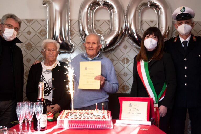 Torano Nuovo, in festa per i 100 anni di Guerino Pepe FOTO