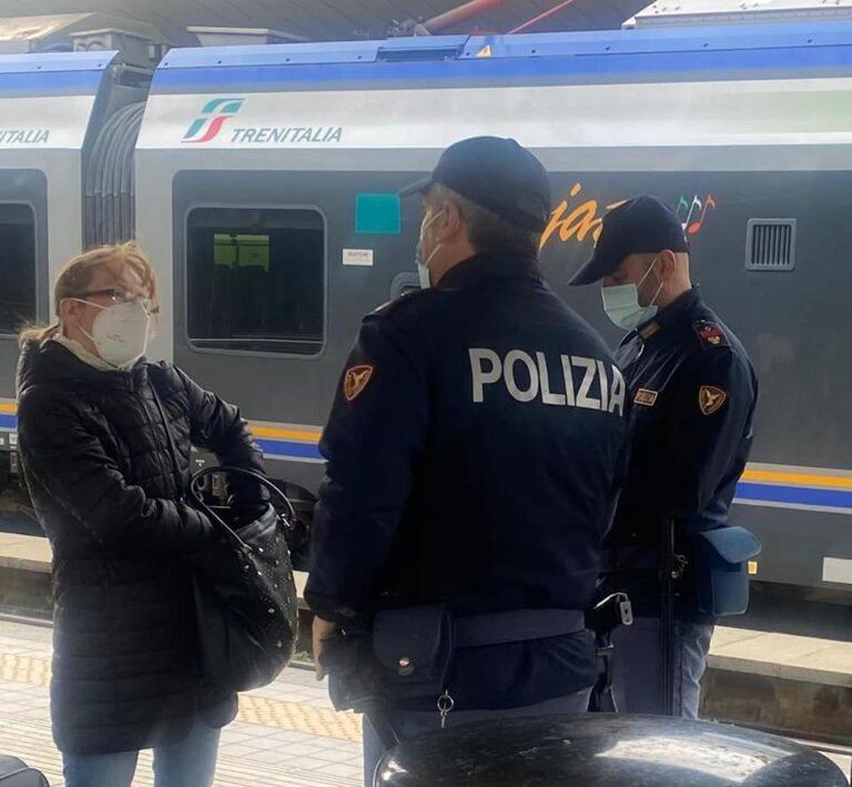 Da Pescara a Teramo in treno senza giustificato motivo: multati in otto