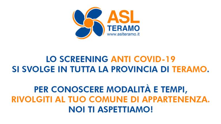 Giorgio Pasotti per lo Screening Anti Covid-19 Provincia di Teramo