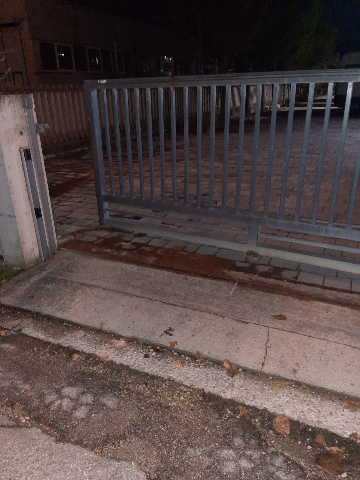 Sant'Omero, fallisce la spaccata nell'azienda della zona industriale FOTO