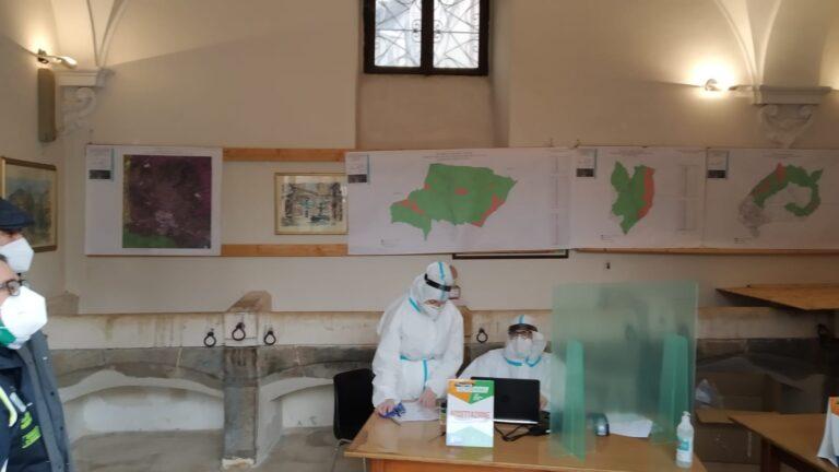 Screening nella provincia aquilana: il bilancio dei test rapidi