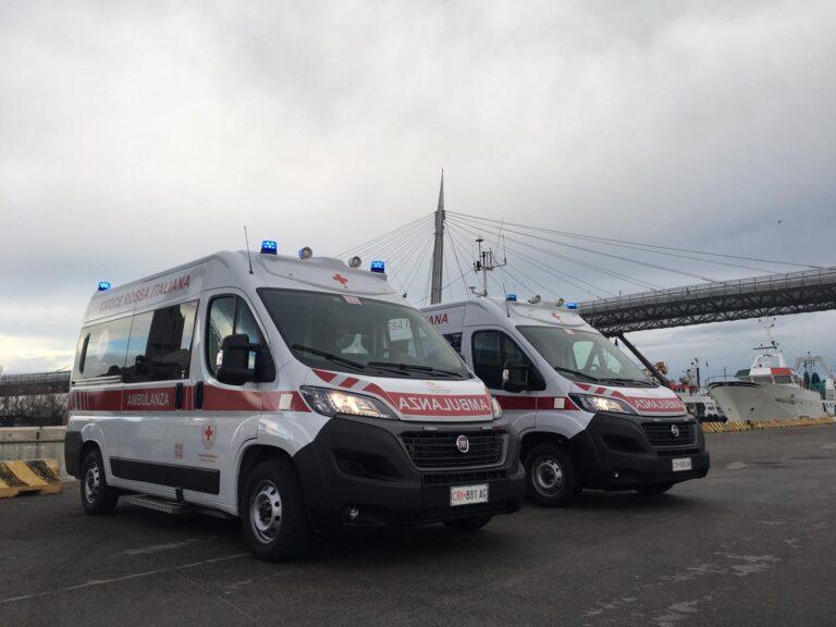 Pescara: 2 nuove ambulanze per la Croce Rossa