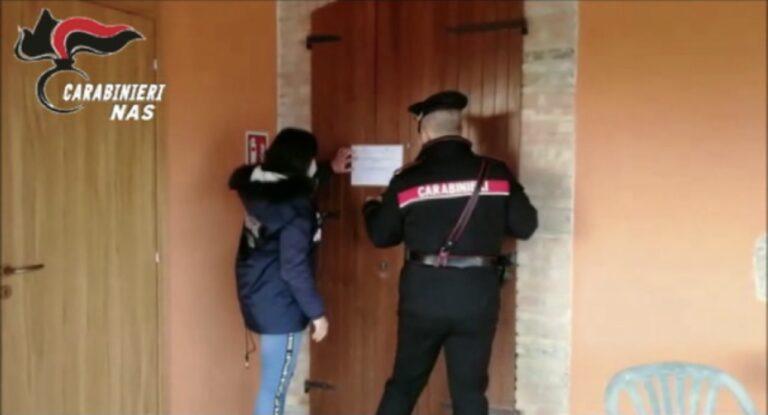 Castellalto, residenza per anziani abusiva in una fattoria sociale: sigilli del Nas VIDEO