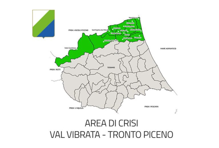 Area di crisi Vibrata-Tronto: richiesta la proroga per 3 anni