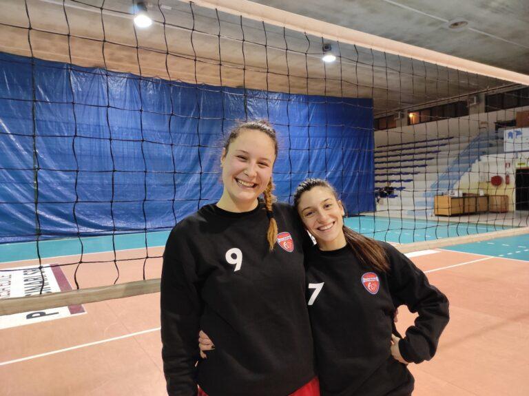 LG Impianti Futura Volley Teramo, ufficiali gli arrivi di Aurora Patriarca e Sofia Masciantonio