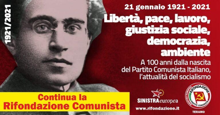 Centenario Partito Comunista: le riflessioni del circolo teramano